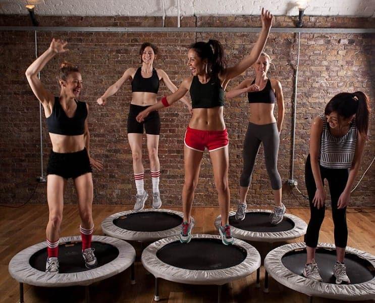 trampoline rebounder