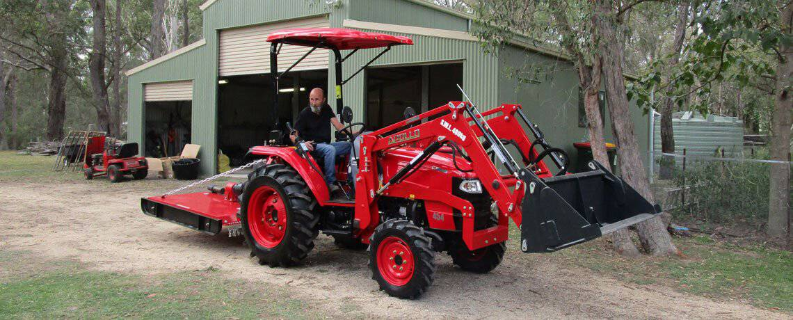 Small Compact Tractors