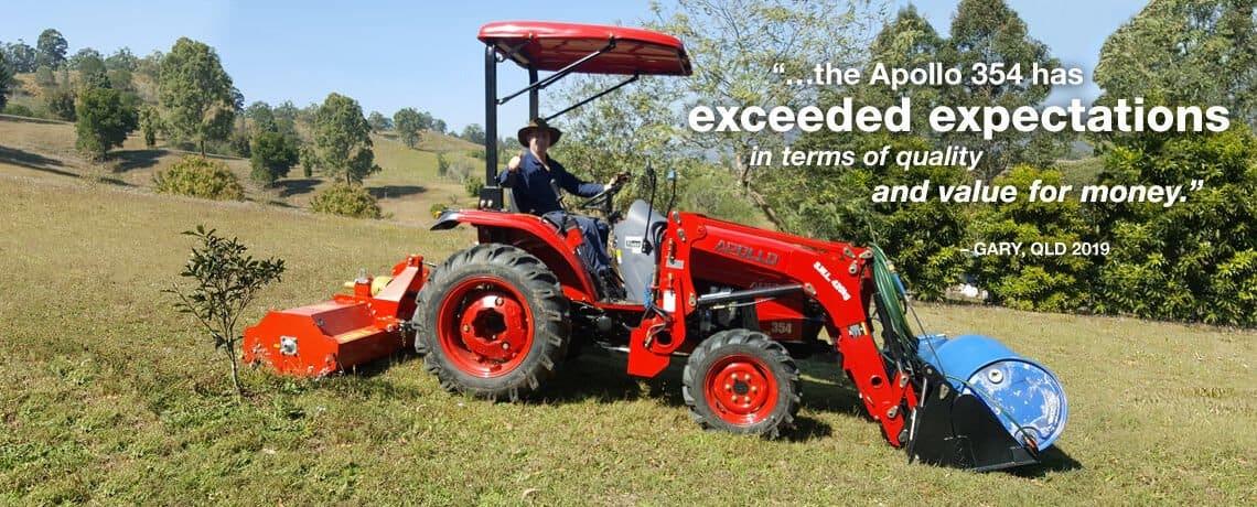APOLLO 35hp Tractor Pkg