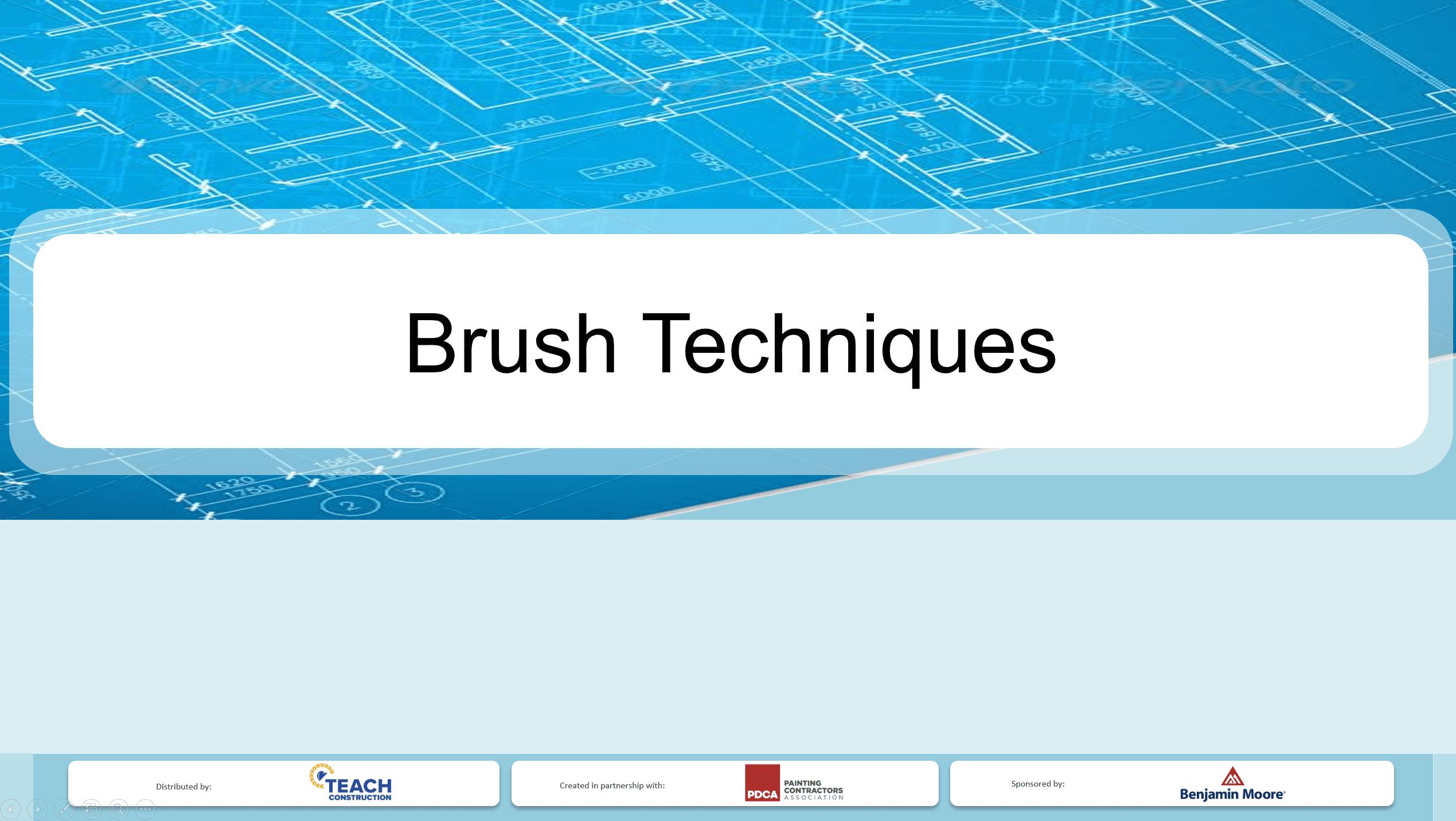 Brush Techniques - Presentation Image