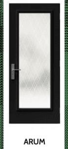 Arum Doorglass Example London Door Company