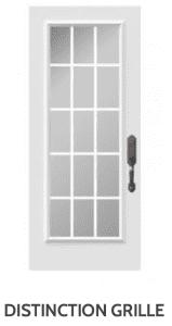 Distinction Grille Doorglass Novatech Doors London Door Company