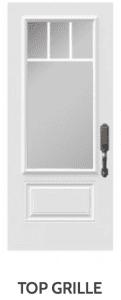 Top Grille Doorglass Novatech Doors London Door Company