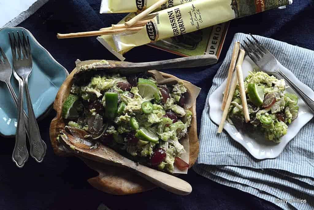 no mayo chicken salad