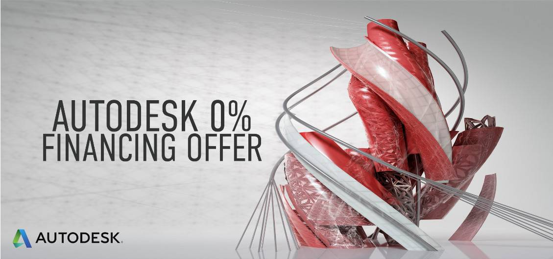 0% Financing on Autodesk M&E Solutions Today!
