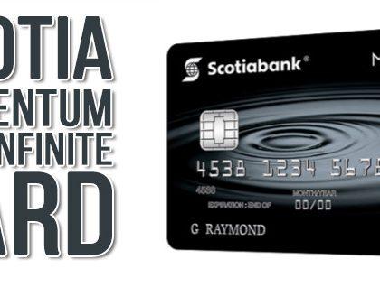 Заработайте максимум наличных с Scotia Momentum Visa Infinite card!