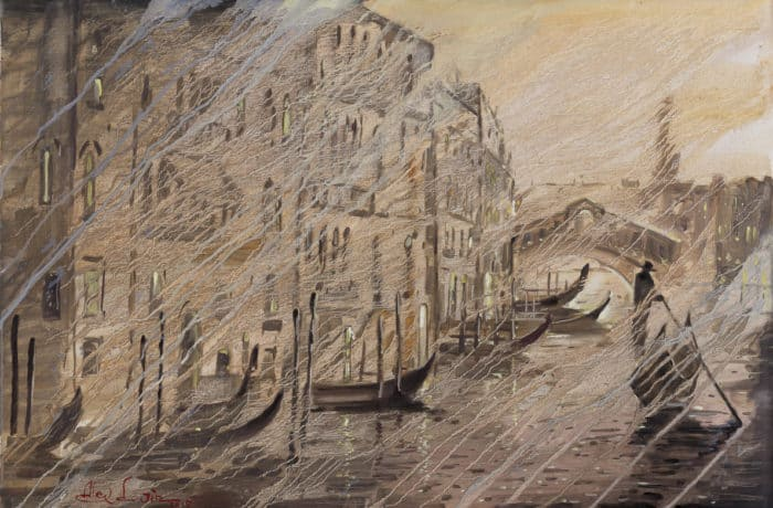 Original Oil Painting: Grieg – Piano Concerto in A minor