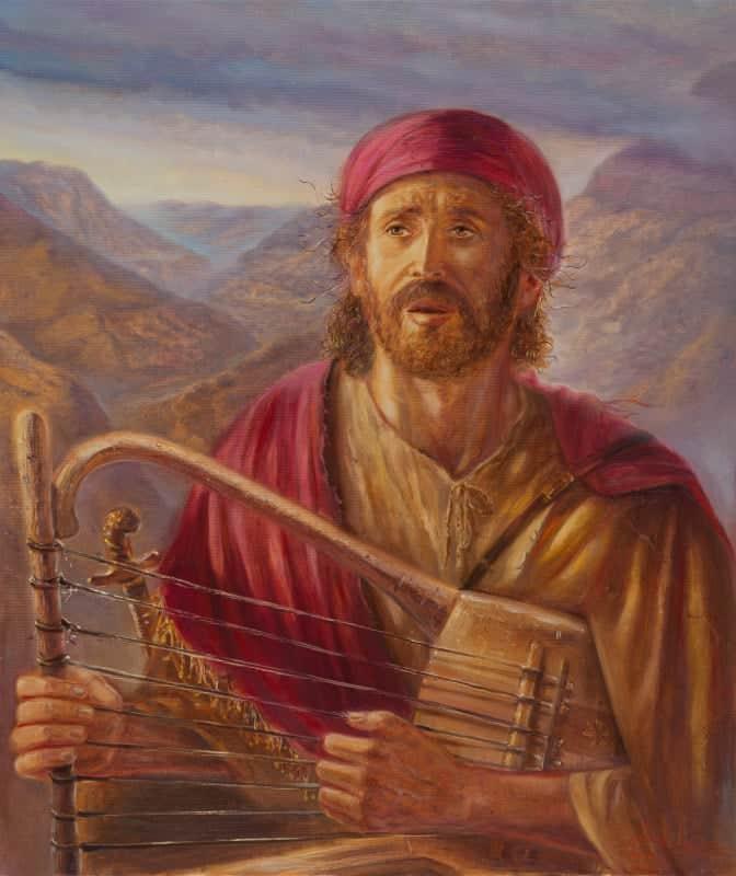 Original Oil Painting: King David Journey ahead