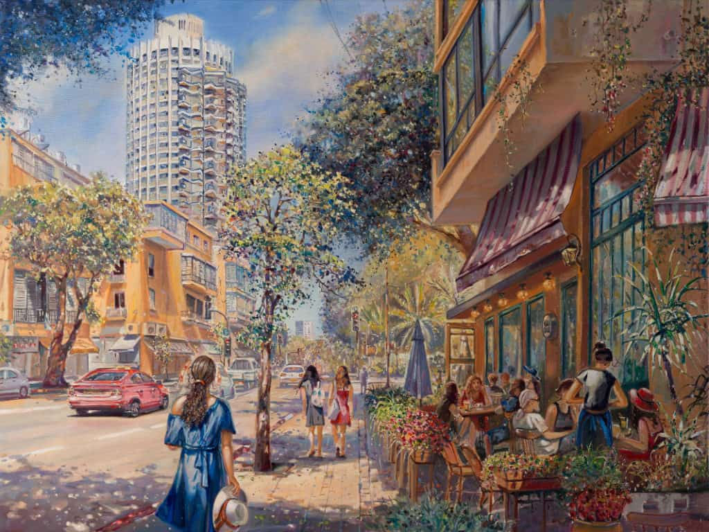 Tel Aviv Paintings