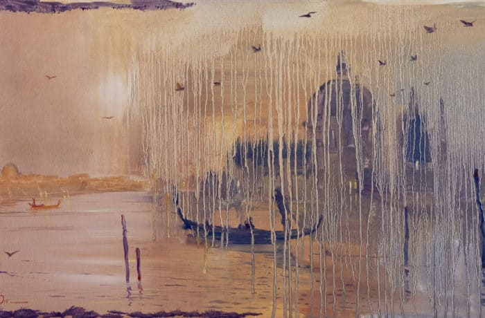 Original Oil Painting: Mendelssohn – Violin Concerto E Minor