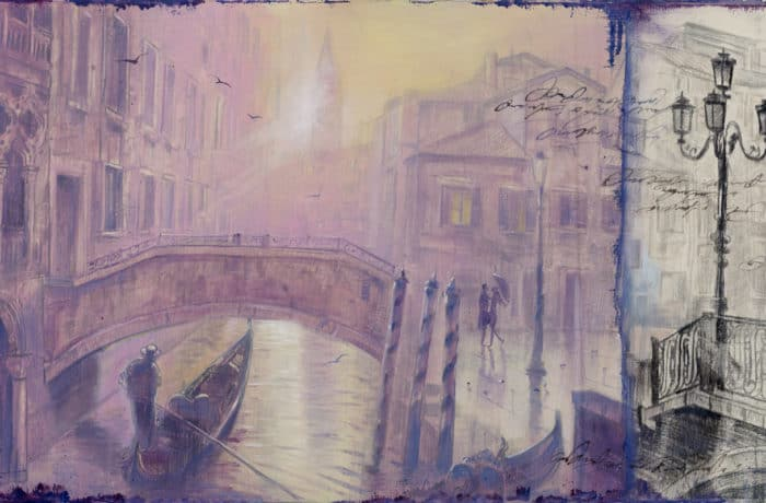 Original Oil Painting: Mozart – Piano Concerto No. 12