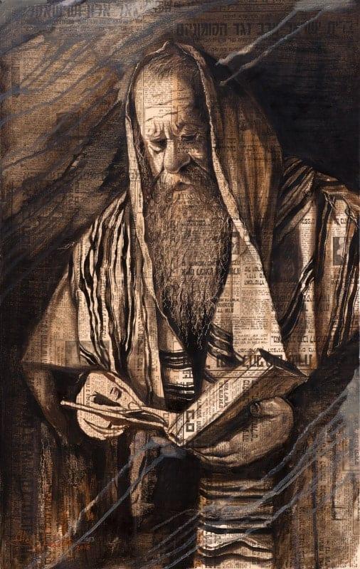 Original Oil Painting: Power of Praying
