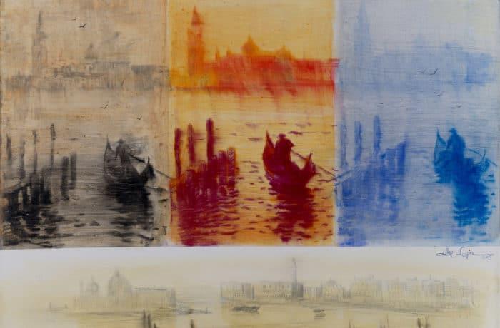 Original Oil Painting: Schubert – Serenade