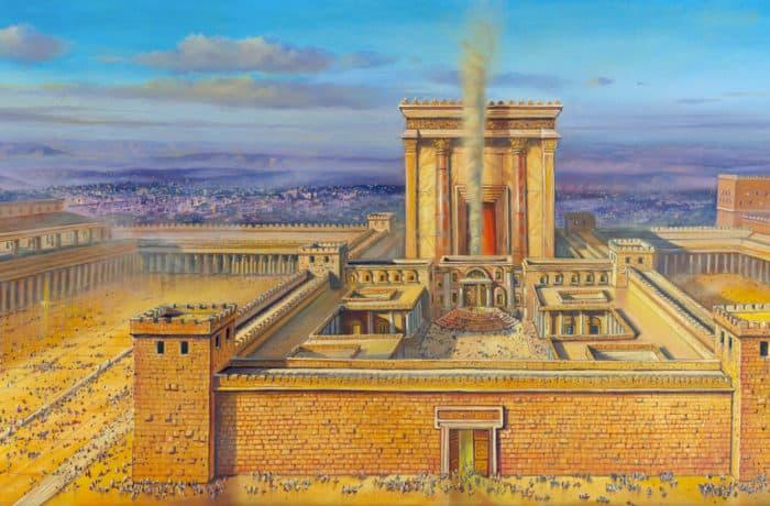 Original Oil Painting: Temple – The Soul of Jerusalem