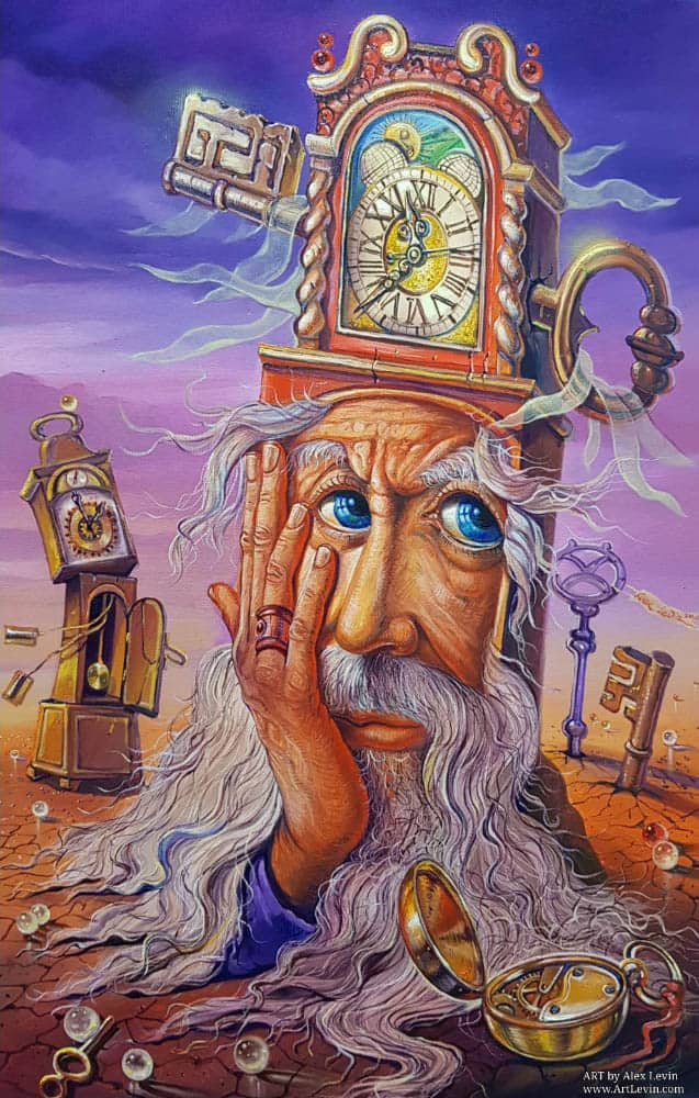 Original Oil Painting: Value your time