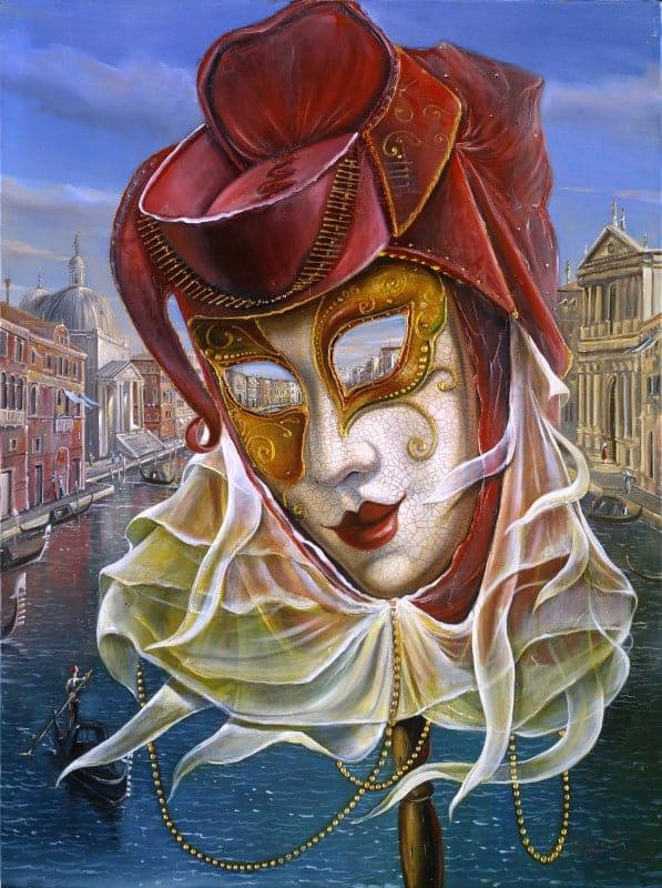 Original Oil Painting: Venetian Breeze