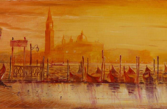 Original Oil Painting: Vivaldi – Spring