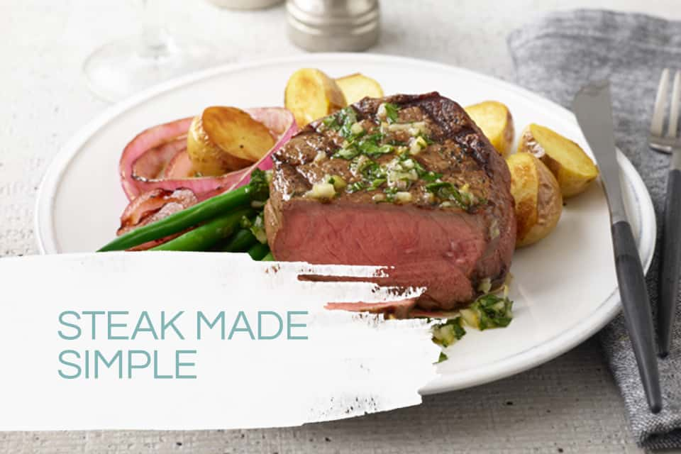 Natural Angus Steak made simple
