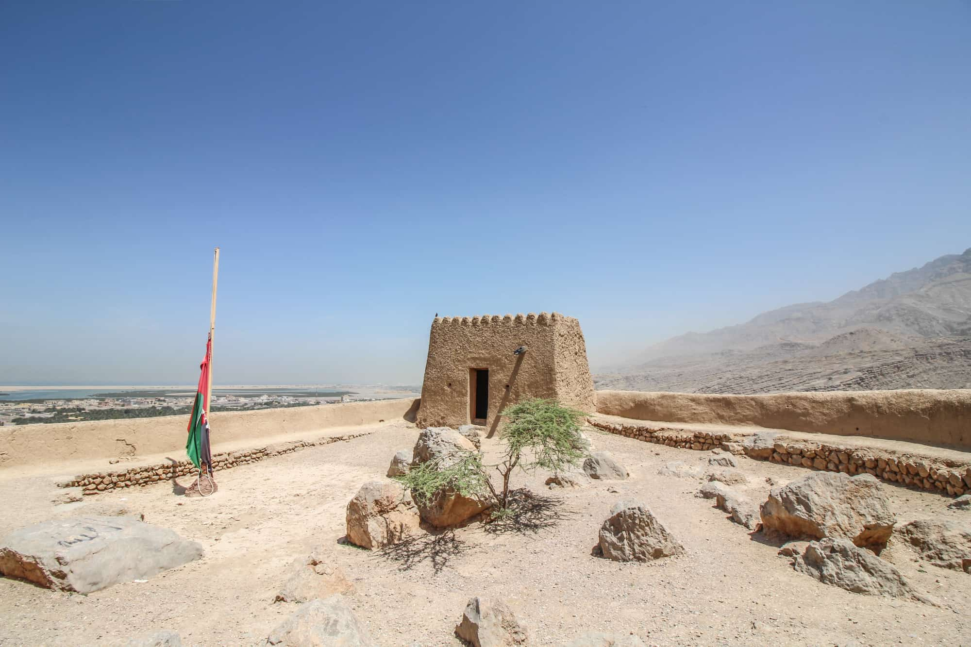 fort dhayah inside