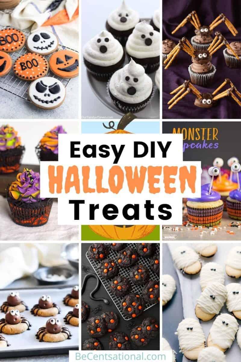 Easy and Spooky DIY Halloween Treats recipe ideas collection