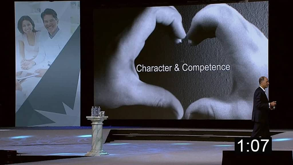Character and Competence – High Trust Client Relationships