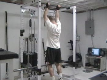 Barbell Weighted Chin-Ups for Adding Resistance to Your Bodyweight Back Training