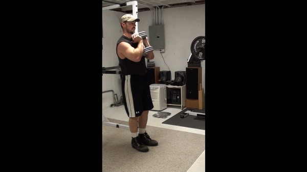 Side Step Goblet Squats for Lateral Movement Pattern Leg Training