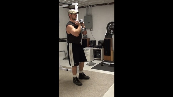 Side Step Goblet Squats for Working the Lateral Movement Patterns in Your Lower Body