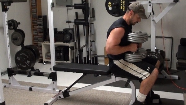 Want Big Arms?  Try Close Grip DB Bench Press...