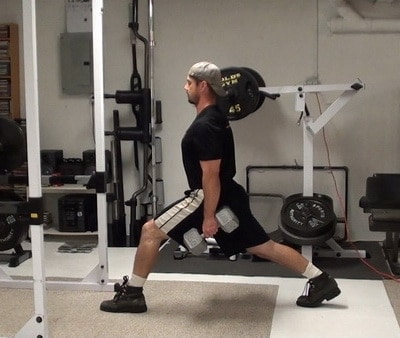 Big Split Dumbbell Stiff-Legged Deadlifts - Great for hamstrings, glutes and adductors