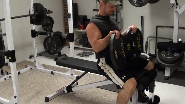Barbell Plate Flyes for Massive Stretch Tension on the Pecs