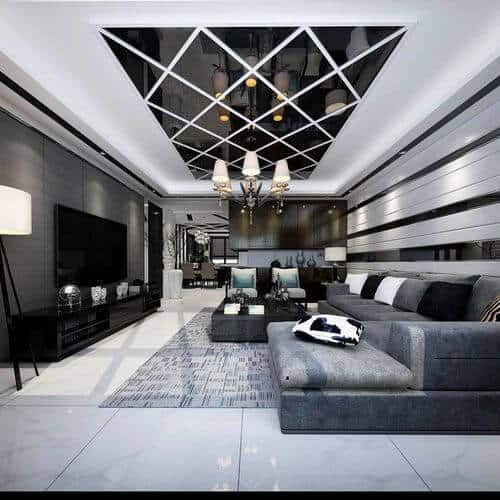 modern false ceiling design for living room