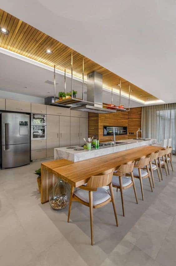 double-layered ceiling solutions