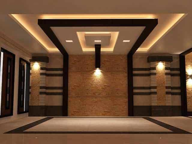 false ceiling colours
