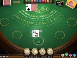 NetEnt – Blackjack Classic 3 Hand