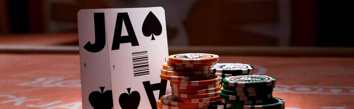 Den bedste hånd i Blackjack - 21.