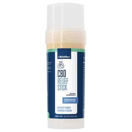 CBDistillery CBD Muscle Relief Stick 1000mg