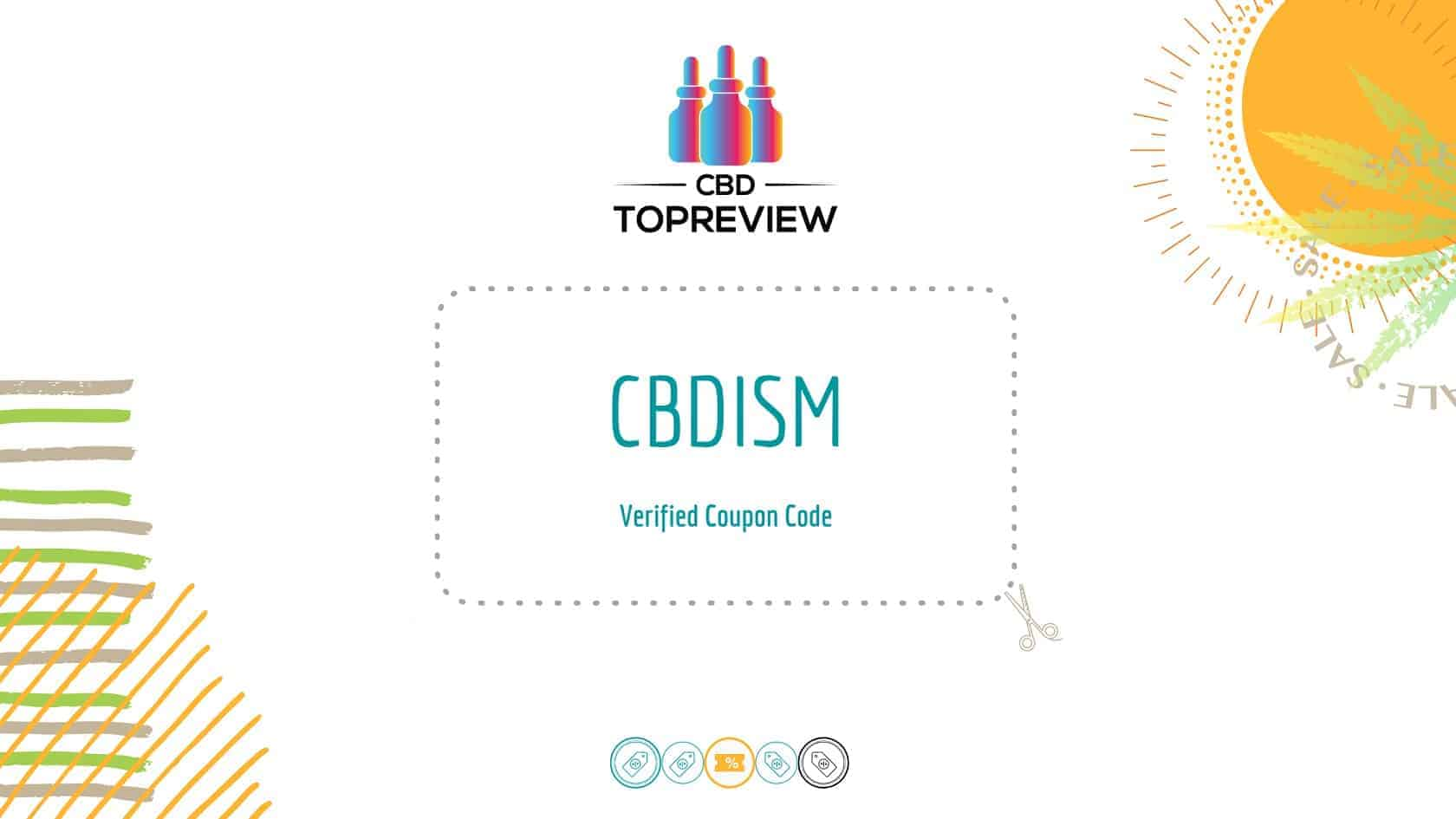 The CBDism coupon, get 15% off CBDism in January 2021
