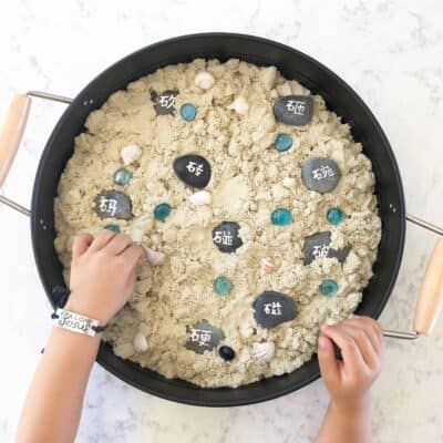 4 Fun Ways to Use Stones for Chinese Reading & Writing Practice!