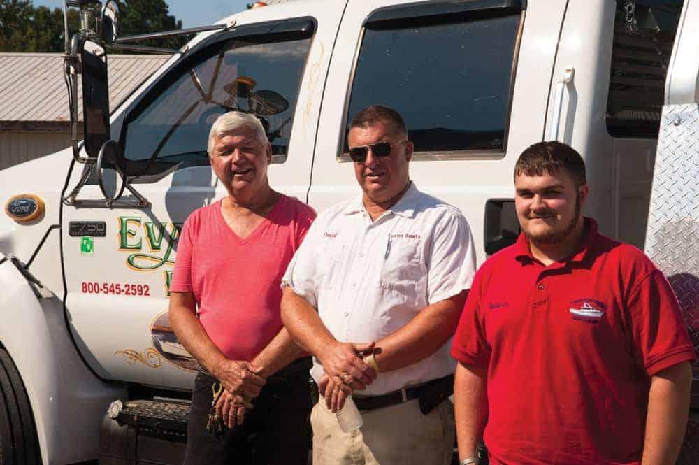 Boatbuilders and steadfast community men, Eugene, David and David Jr.