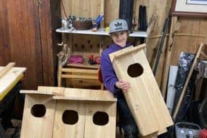 VIDEO: Boy Brings Wood Duck Habitat to Eastern Shore Town
