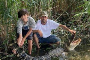 Calvert Man Recounts How He Caught 7.5-Foot Alligator from Chesapeake Bay