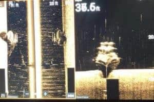 Sunken Vessel Warning in James River