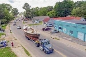 Replica 1768 Sloop to Launch in Deltaville as Floating Classroom