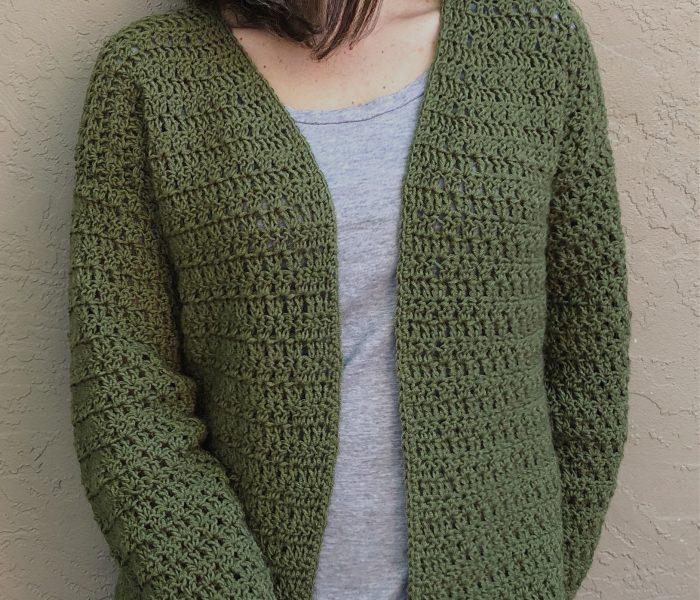 Sera Cardigan a Free Crochet Cardigan Pattern