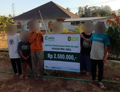 CSPeduli Sosial – Program Pipanisasi dari Ma'had Mu'adz bin jabal Lombok Utara