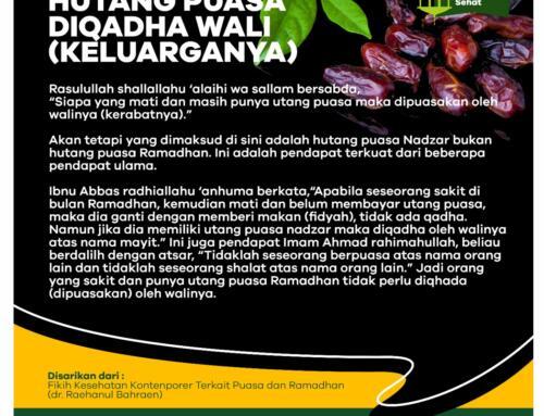 Hutang Puasa di Qadha Wali (Keluarganya)