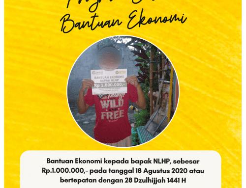 Bantuan Ekonomi Bapak NLHP di Cigereleng, Bandung