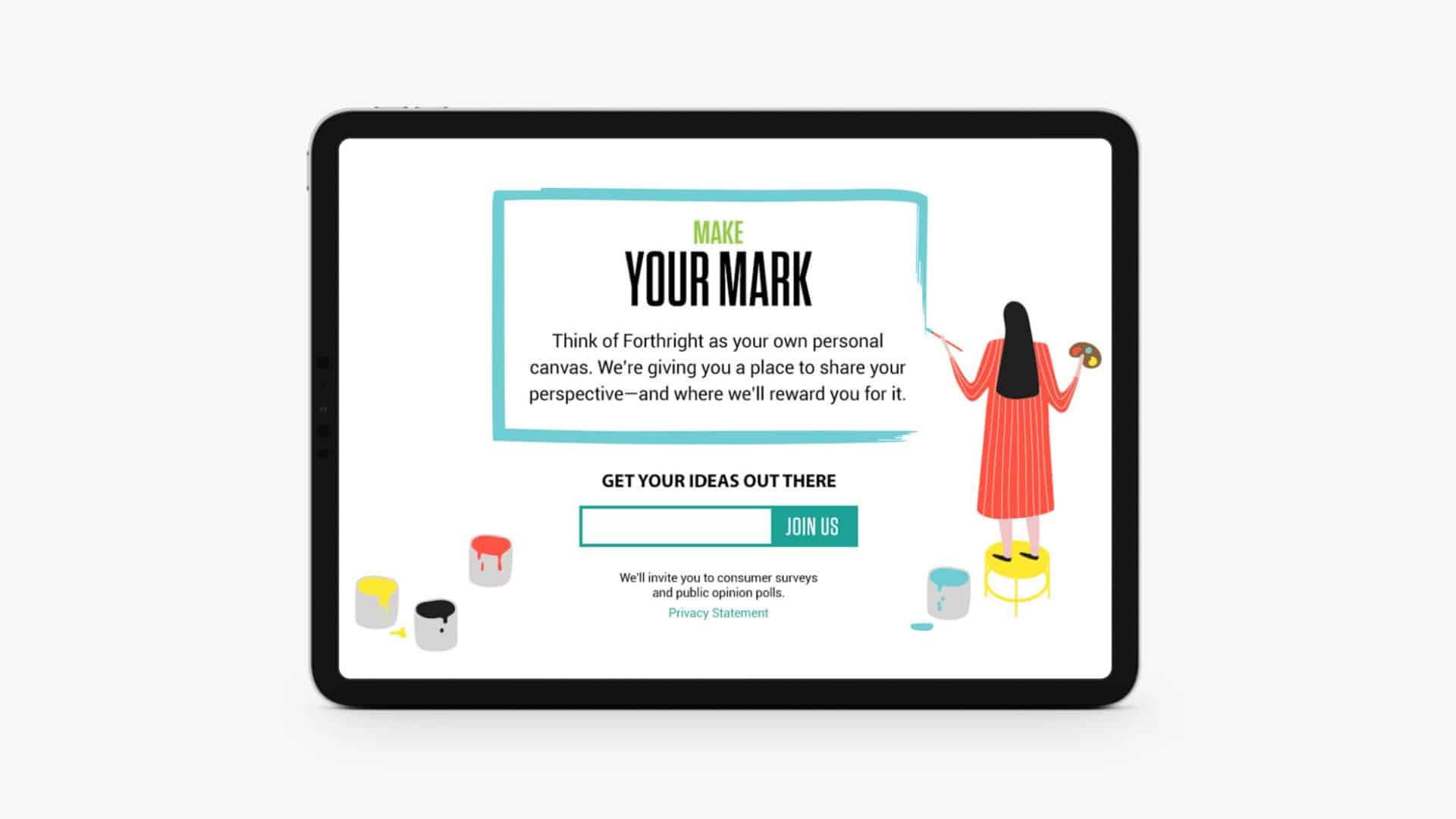 Make Your Mark - Digital Creative - Citizen Best
