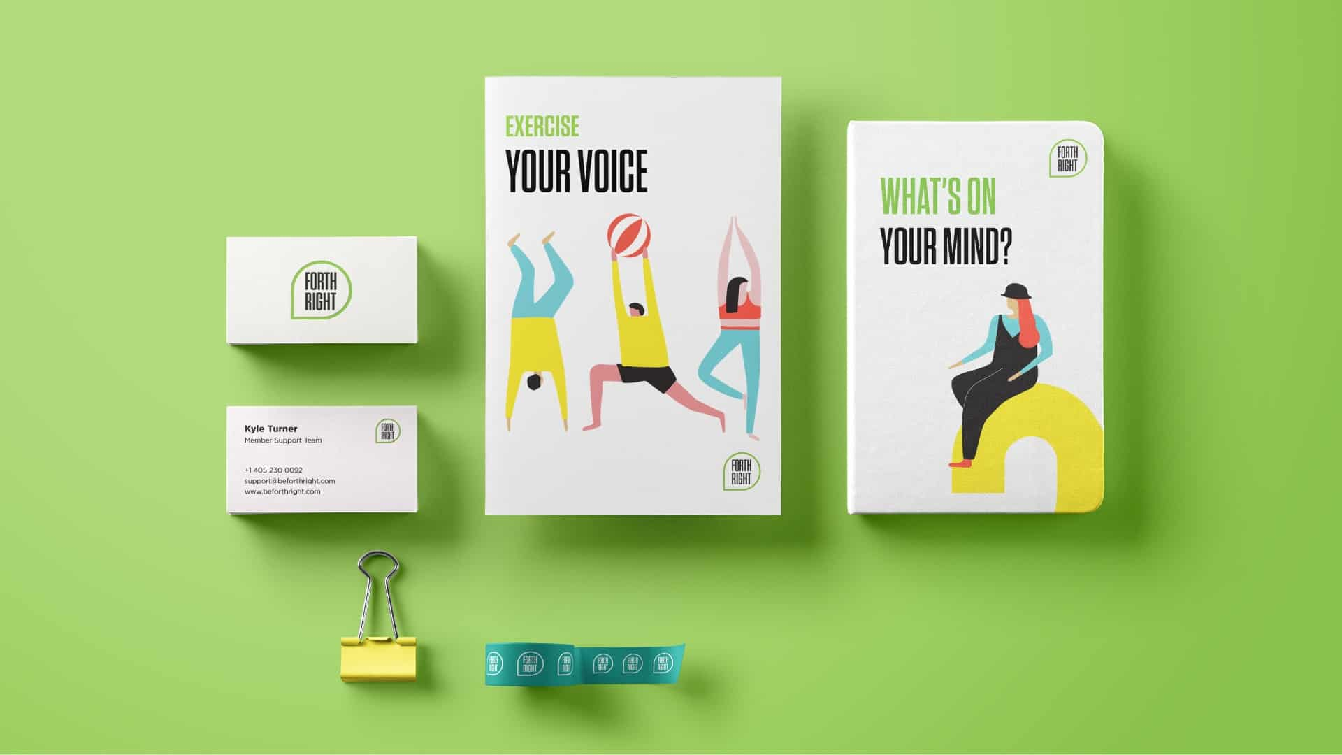 Exercise Your Voice Graphic Design - Digital Cretaive - Citizen Best